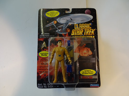 "Lieutenant Sulu 5"" poseable figure by Bandai Playmates"