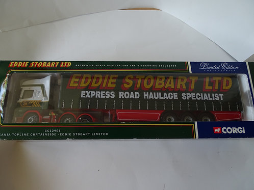 Eddie Stobart - Scania Topline Curtainside, diecast 1:50 model
