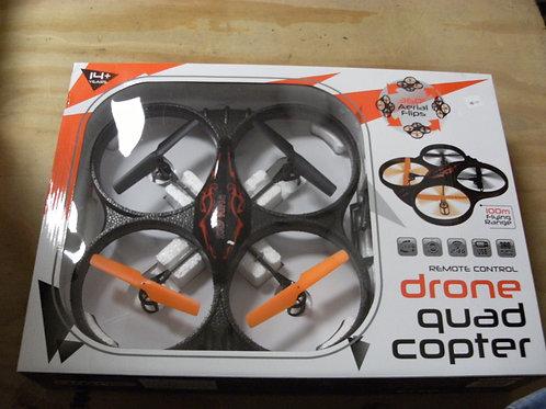 Quad drone copter R/C control stunt control