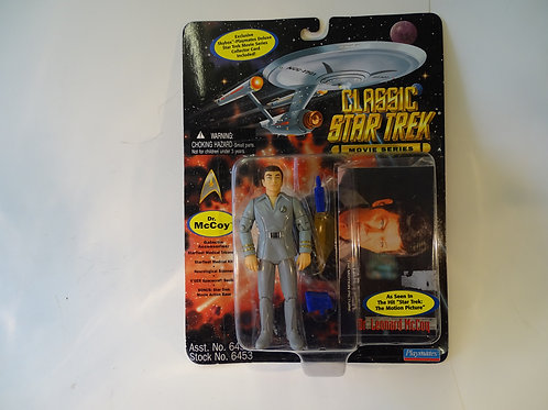 "Dr McCoy 5"" poseable figure by Bandai Playmates"