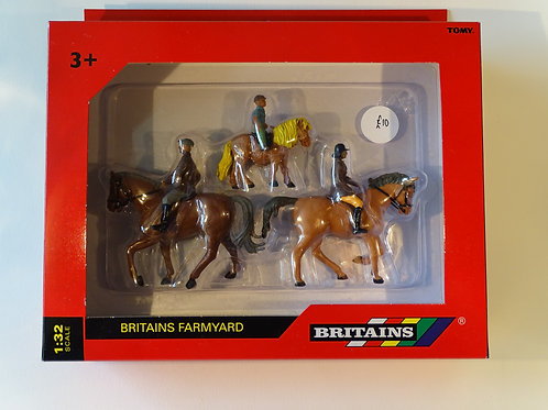 Britains Farmyard figures - Horses