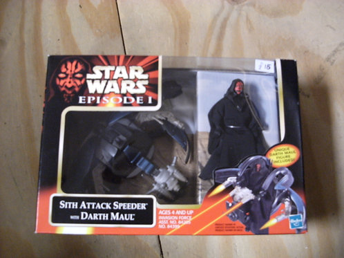 Star wars Episode one Sith attacker with Darth Maul