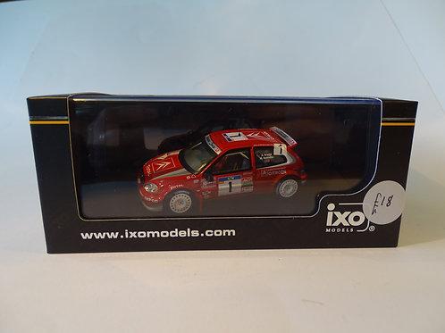 Ixo Citroen Saxo Rally car RAM226