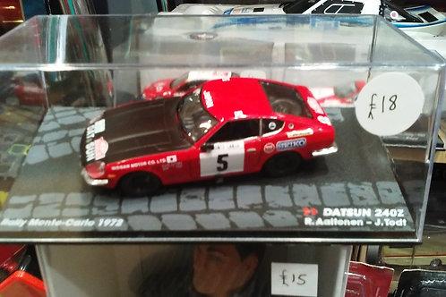 Ixo Datsun 240Z Rally Monte Carlo 1972