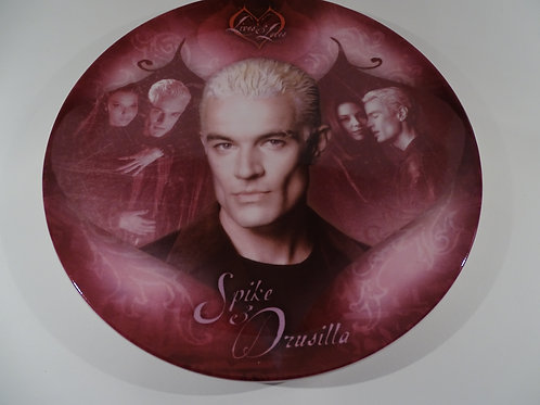 Buffy the Vampire Slayer, Spike & Drusilla plate, Limited Edition