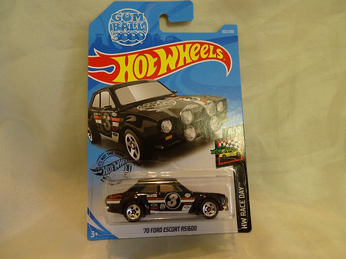 Hot Wheels '70 Ford Escort RS1600 - HW Race Day