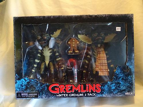 Gremlins Winter Gremlins 2 pack action figures by Neca