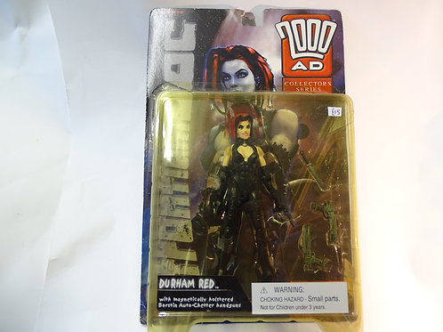 Durham Red figure from 2000AD by Reaction figures.