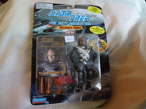 Worf 'The Next Generation - Holodeck' figure