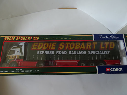 Eddie Stobart - Volvo Globetrotter Curtainside, diecast 1:50 model