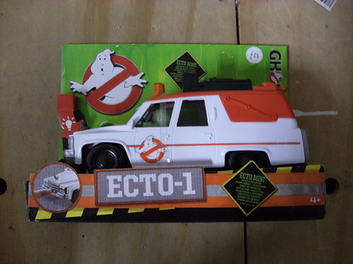 Ghostbusters Ecto 1 vehicle from the remade movie.