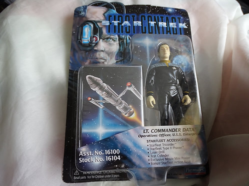Lt Commander Data 'First Contact' figure