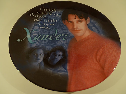 Buffy the Vampire Slayer, Xander plate, Limited Edition