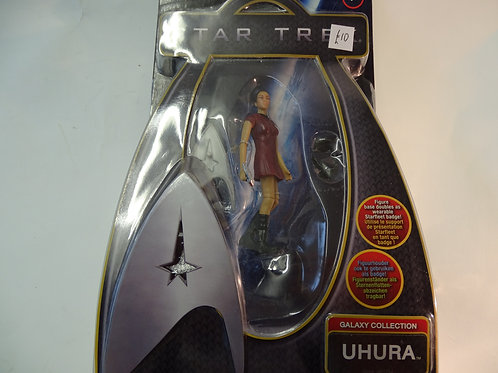 Uhura figure from Star Trek by Playmates