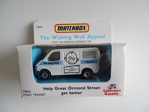 Matchbox Ford Transit van boxed