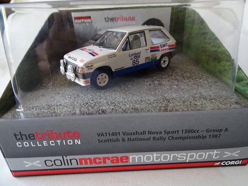 Vauxhall Nova Sport - Colin McRae model by Corgi
