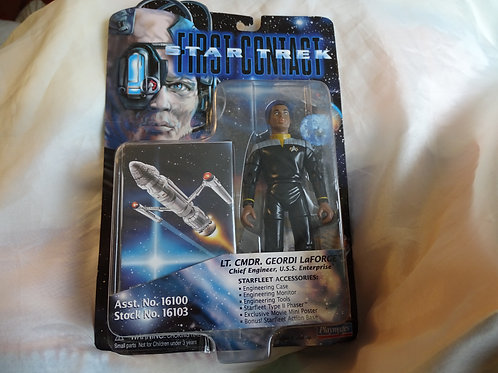 Geordi La Forge 'First Contact' figure