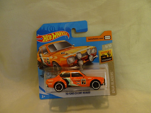 Hot Wheels '70 Ford Escort RS1600 - Baja Blazers