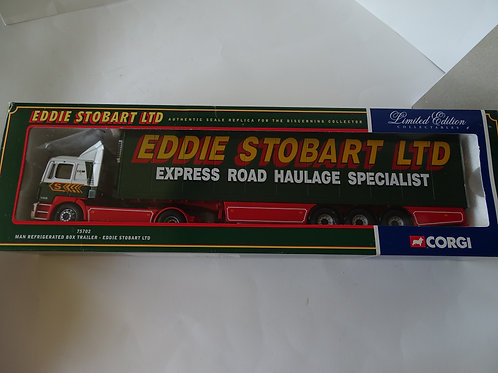 Eddie Stobart - MAN Refrigerated Box Trailer, diecast 1:50 model