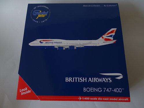 Gemini Jets Boeing 747-400 diecast 1:400 model.