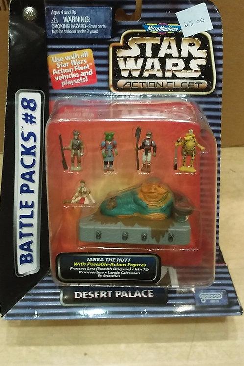 Micro Machines Star Wars Action Fleet 'Desert Palace'.