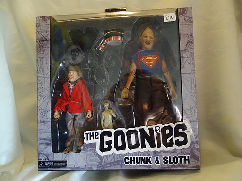 'The Goonies' Chunk and Sloth action figures and accessories by Neca
