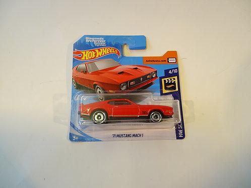 Hot Wheels '71 Mustang Mach 1'