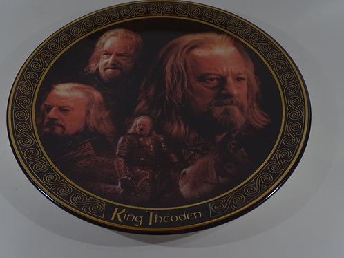 Lord of the Rings, King Theoden plate, Limited Edition