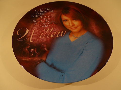 Buffy the Vampire Slayer, Willow plate, Limited Edition