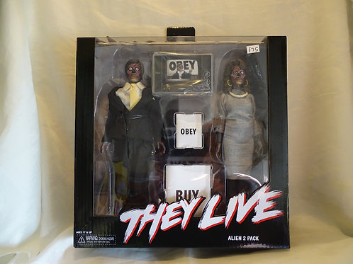 'They Live' alien 2 pack action figures and accessories by Neca