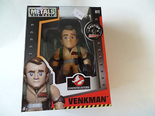 "Ghostbusters Venkman 4"" metal figure"