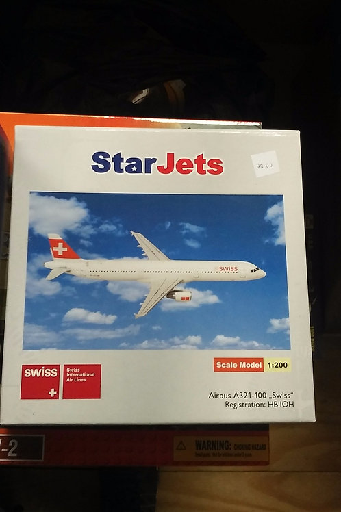 Star Jets swiss airliner