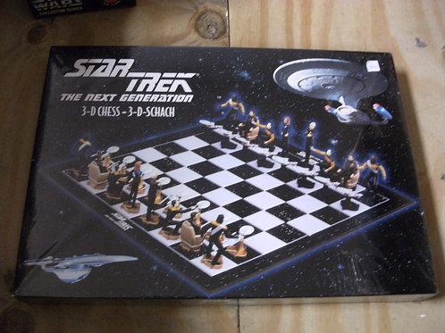 Star Trek TNG 3D chess set