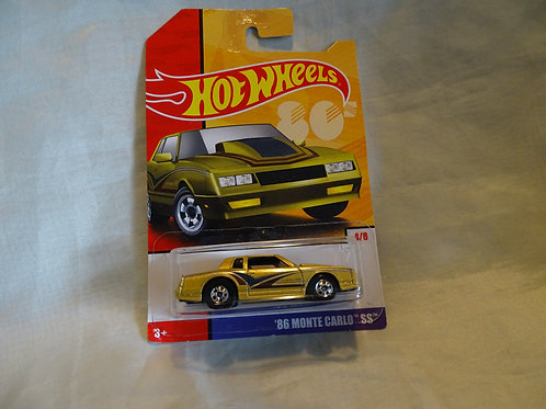 1986 Monte Carlo SS by Hot Wheels 80's