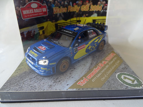 Subaru Impreza WRC Wales Rally GB 2004 model by Vitesse