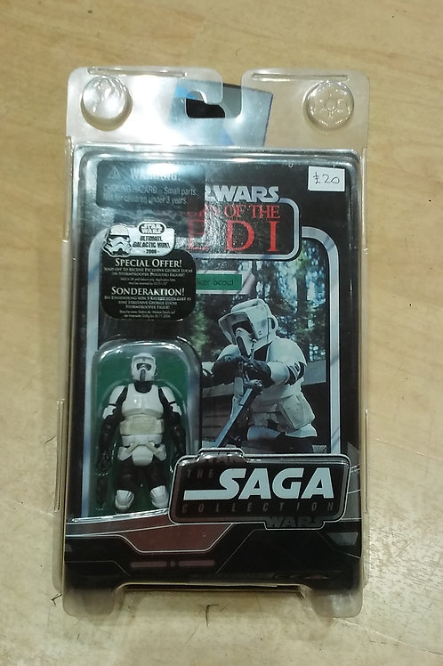 "Star Wars Biker Scout 4"" figure"