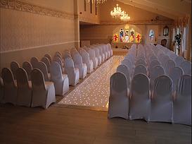 Starlit Ceremony Aisle