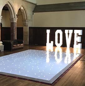 Indoor Starlit Dance Floor