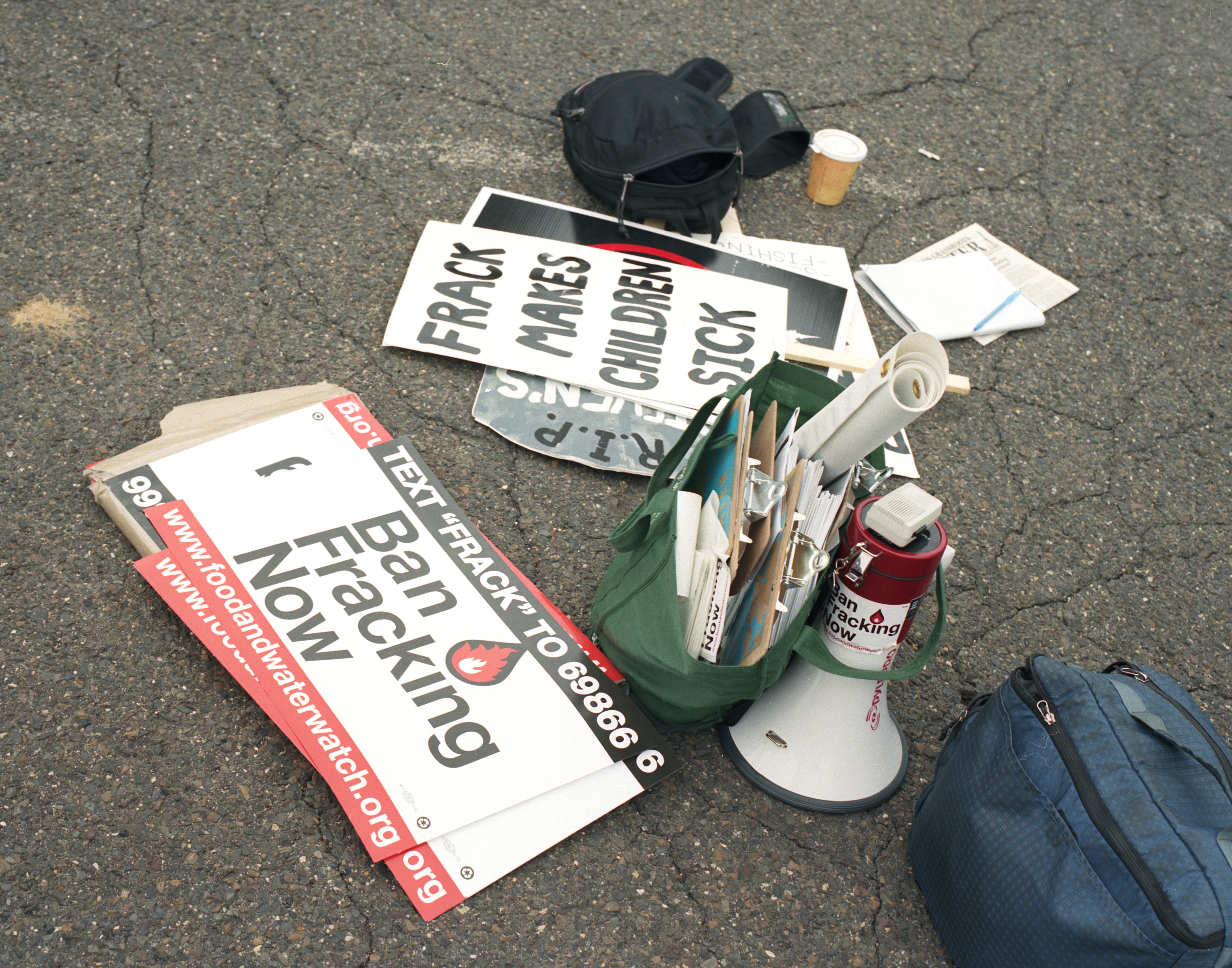 a protesters kit