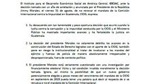 COMUNICADO DE IDESAC: