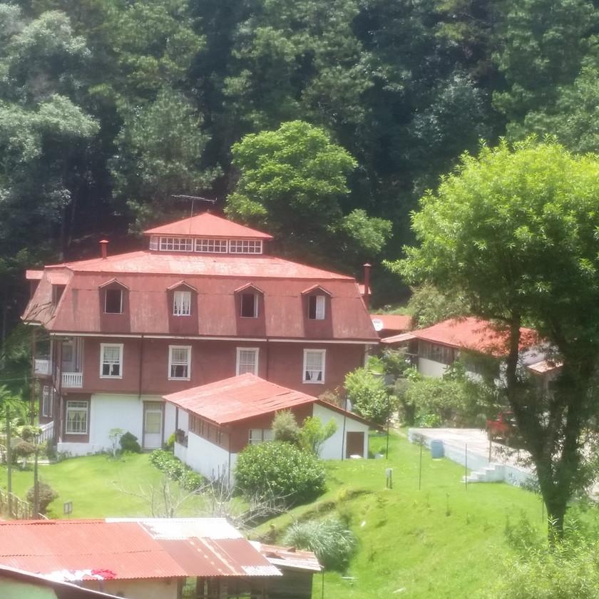 Vista de la Residencia San Rafael las Hortensias