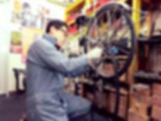 サイクルセンター矢代_修理写真