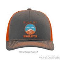 Built By Baileys trucker style hat