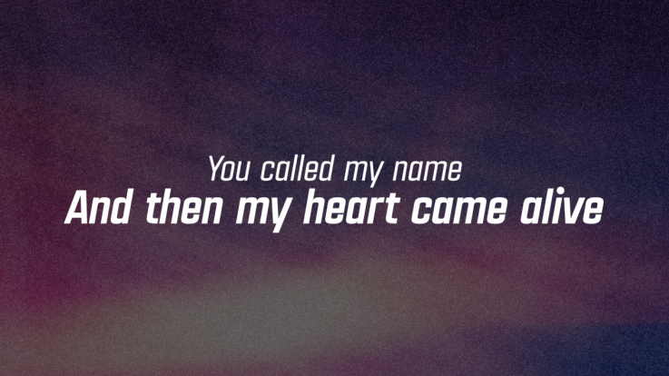 HE IS CALLING YOU