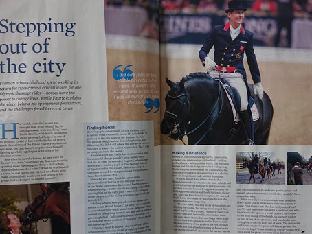 HORSE AND RIDER MAGAZINE ARTICLE