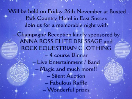 DATE FOR DIARY!! ....CHRISTMAS GALA PARTY ON FRIDAY 25TH NOVEMBER @ BUXTED PARK COUNTRY HOTEL.