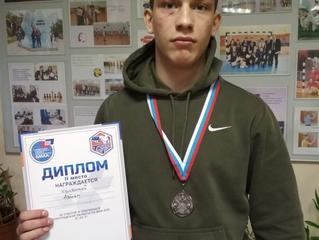 Наш Артемка Кривский стал победителем в чемпионате Ленинградской области по ММА 2021 и занял 2 место