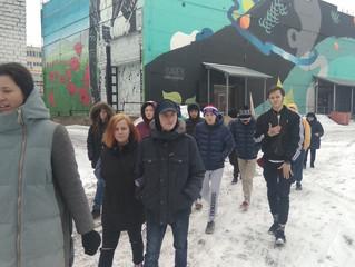 """2 марта мы с ребятами посетили музей """"Стрит-арт"""" ."""