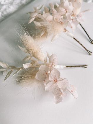 Hair Pins - Peach Blossom