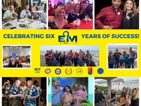 EM Key Solutions is proud to be celebrating our 6th anniversary!
